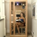 People-are-treating-their-skin-conditions-with-a-home-sauna